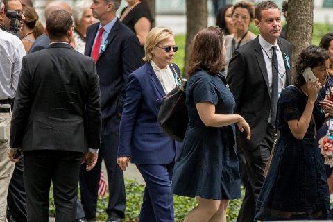 Хиллари Клинтон заболела пневмонией
