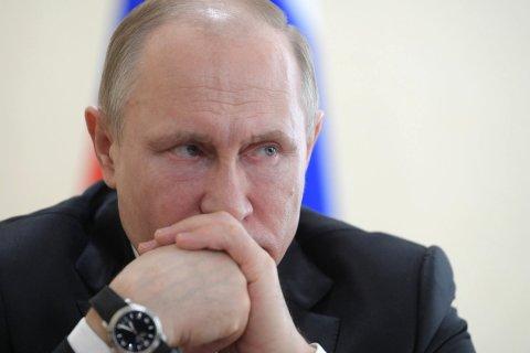 «Левада-Центр»: Количество россиян, недовольных Путиным, выросло в полтора раза