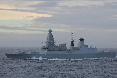 Военного атташе Великобритании вызвали в Минобороны РФ в связи с инцидентом в Черном море