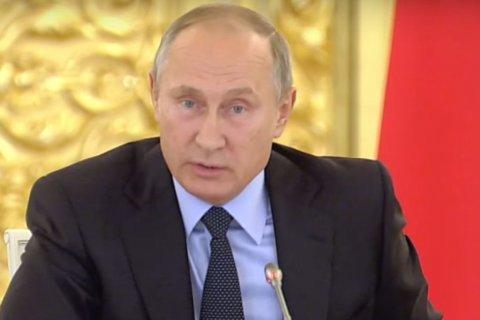 Путин рассчитывает, что столетие Великого Октября станет символом преодоления раскола в обществе