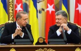 Порошенко предложил Эрдогану отправить турецких военных в Донбасс