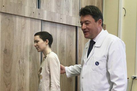 Девушке из Апатитов, рассказавшей Путину о своей болезни, полностью удалили опухоль