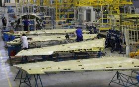 Производство российских самолетов и космической техники за год упало на 13,5%