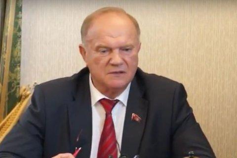 Геннадий Зюганов: КПРФ предложила обществу реальную программу выхода из кризиса