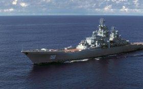 Атомный ракетный крейсер «Адмирал Лазарев» прибыл на завод для утилизации