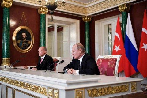 Путин и Эрдоган не договорились о цене за газ. А труба за 7 млрд долларов уже построена. За счет России