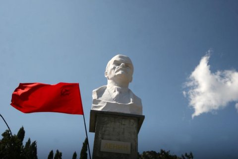 В Крыму открыли новый памятник Ленину