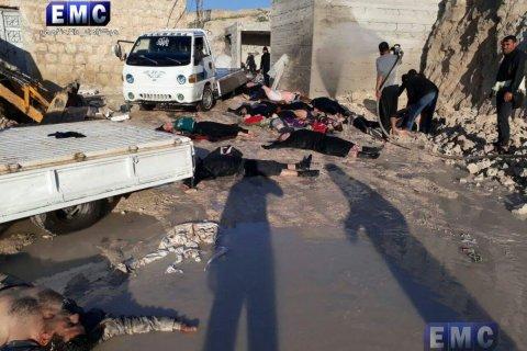 Россия заявила об инсценировке химической атаки в Сирии