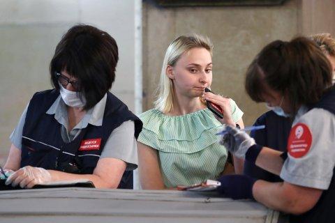 За неделю москвичей оштрафовали на 27 млн рублей за отсутствие масок