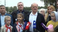 Г.А.Зюганов прокомментировал посещение музея техники (11.09.2021)
