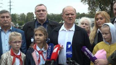 Г.А.Зюганов прокомментировал посесение музея техники (11.09.2021)