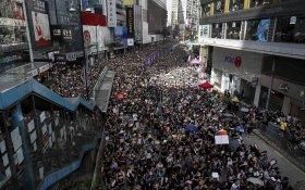 Китай обвинил США в сговоре с протестующими в Гонконге