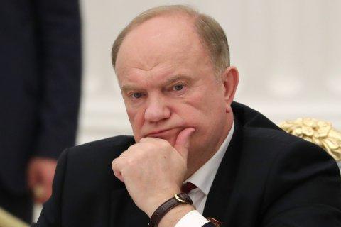 Геннадий Зюганов: Вопрос об отставке правительства РФ стоит давно