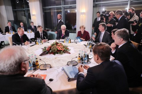 В Берлине закончились переговоры «нормандской четверки». Подробности