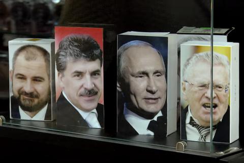 В сети приобретает популярность ролик о «кандидатах-телефонах»