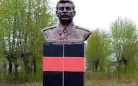 В Кировской области установили памятник Сталину