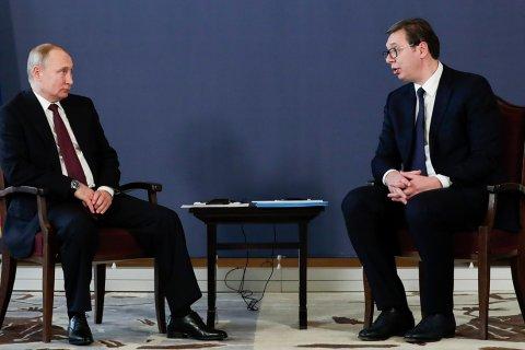 Путин и Лавров извинились перед Президентом Сербии за троллинг Захаровой