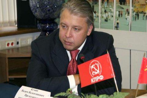 Кандидат в мэры Москвы от КПРФ Вадим Кумин представил предвыборную программу