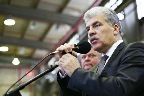 Павел Грудинин предлагает проводить прямые выборы на всех уровнях