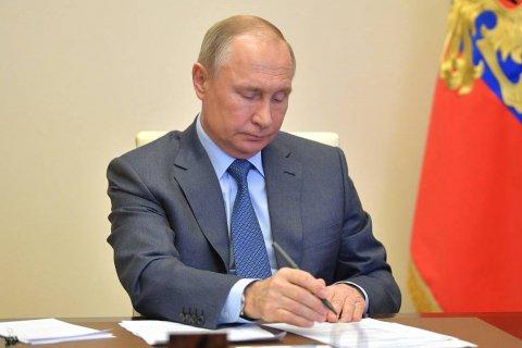 Путин предупредил, что пик заболеваемости коронавирусом еще впереди