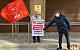 Долой министров-капиталистов! Московские коммунисты провели первомайские одиночные пикеты