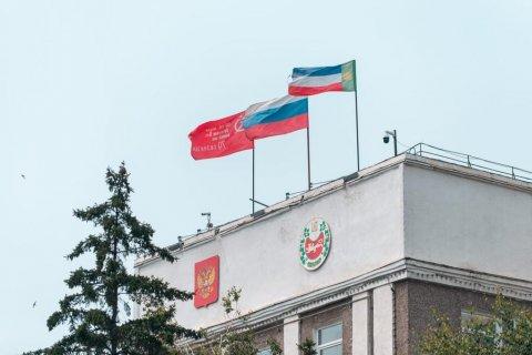 Глава Хакасии коммунист Валентин Коновалов: «Знамя Победы будет развеваться над зданием правительства республики!»