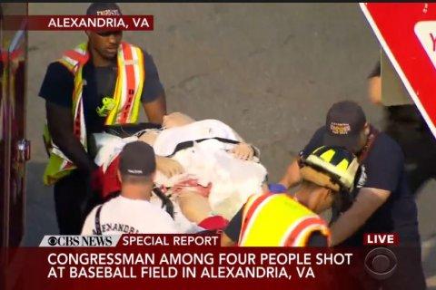 Американского конгрессмена ранили во время стрельбы на бейсбольной площадке