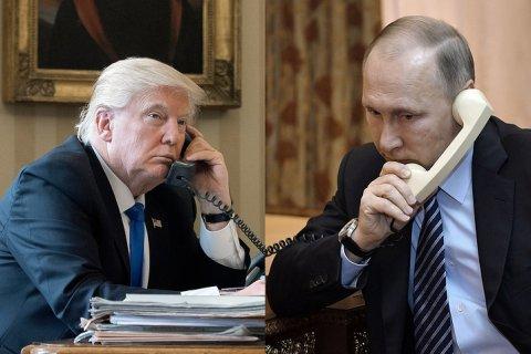 Трамп и Путин поговорили ночью. Подробности