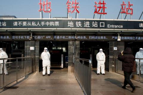 Число заразившихся коронавирусом в Китае достигло 6 тыс. человек