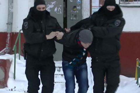 В Москве задержали подозреваемых в экстремизме (видео)
