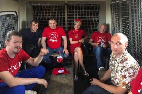 Столичные власти сорвали попытку автопробега КПРФ