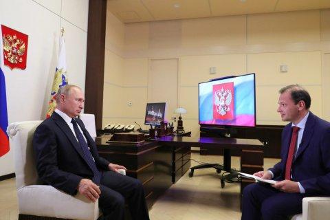 Путин назвал задержание россиян в Белоруссии акцией спецслужб Украины и США