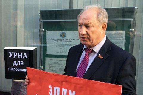 Коммунисты призвали главу Центризбиркома обеспечить чистоту предстоящих выборов