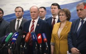 Геннадий Зюганов: Наступивший момент истины требует очень ответственных и важных решений