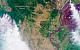 «Роскосмос» показал фото пожаров в Сибири с орбиты