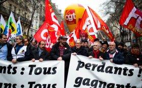 Миллионы французов вышли на протесты против пенсионной реформы. Минфин предложил переговоры