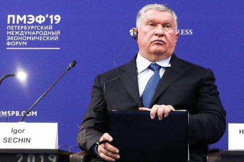 Сечин: США через санкции против «Русала» контролируют алюминиевую, никелевую, платиновую промышленность России