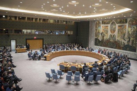 Россия наложила вето на резолюцию СБ ООН по Сирии