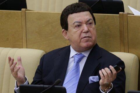 Кобзона могут лишить депутатства из-за паспорта ДНР