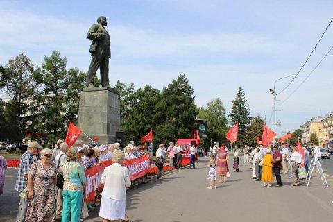Во Владимире состоялся митинг в защиту «Детей войны»