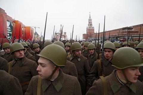 Минобороны отметит 100-летие Красной Армии во всех военных округах