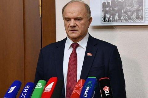 Геннадий Зюганов: Для меня главный вопрос: какую политику будет проводить это правительство?