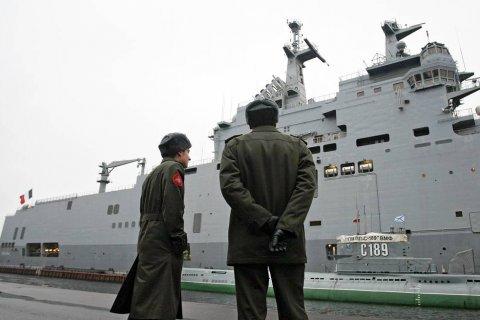 В Крыму перенесли закладку десантных вертолетоносцев за 100 миллиардов рублей