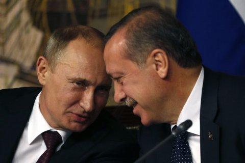 Путин и Эрдоган договорились о строительстве «Турецкого потока»