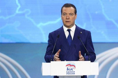 Медведев рассказал о дефиците доверия к «Единой России»