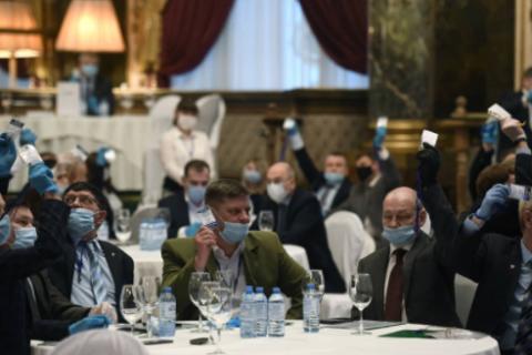 Племянник Путина создал партию «Россия без коррупции» в элитном ресторане Москвы