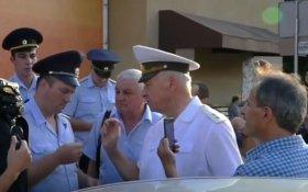 На Ставрополье полиция пыталась незаконно задержать кандидата в губернаторы края от КПРФ генерала Виктора Соболева