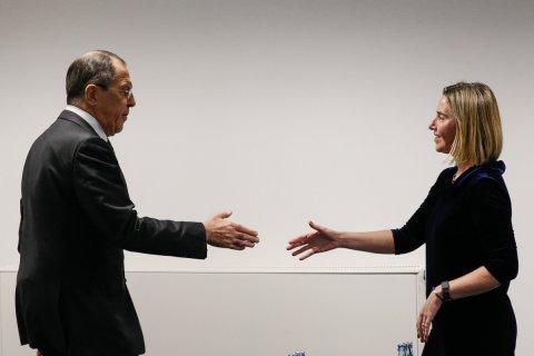 Могерини заявила о возможном объединении ЕС и России против Трампа