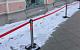 «Как похорошела Москва при Собянине»… Ограждение сугробов теперь стоит 600 рублей вместо 1 (одного) рубля