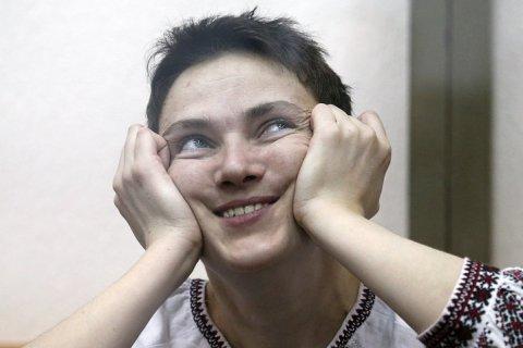 Савченко снова объявила голодовку